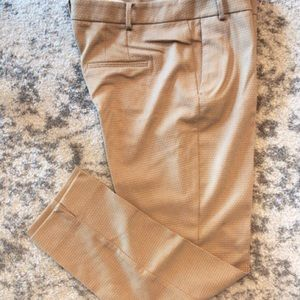 NEW Zara Dotted Beige Slim Fit Trousers   Size: 10